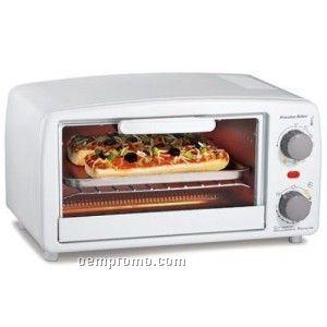 Hamilton Beach 4 Slice Toaster Oven, White