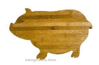 Pig Bamboo Cutting Board