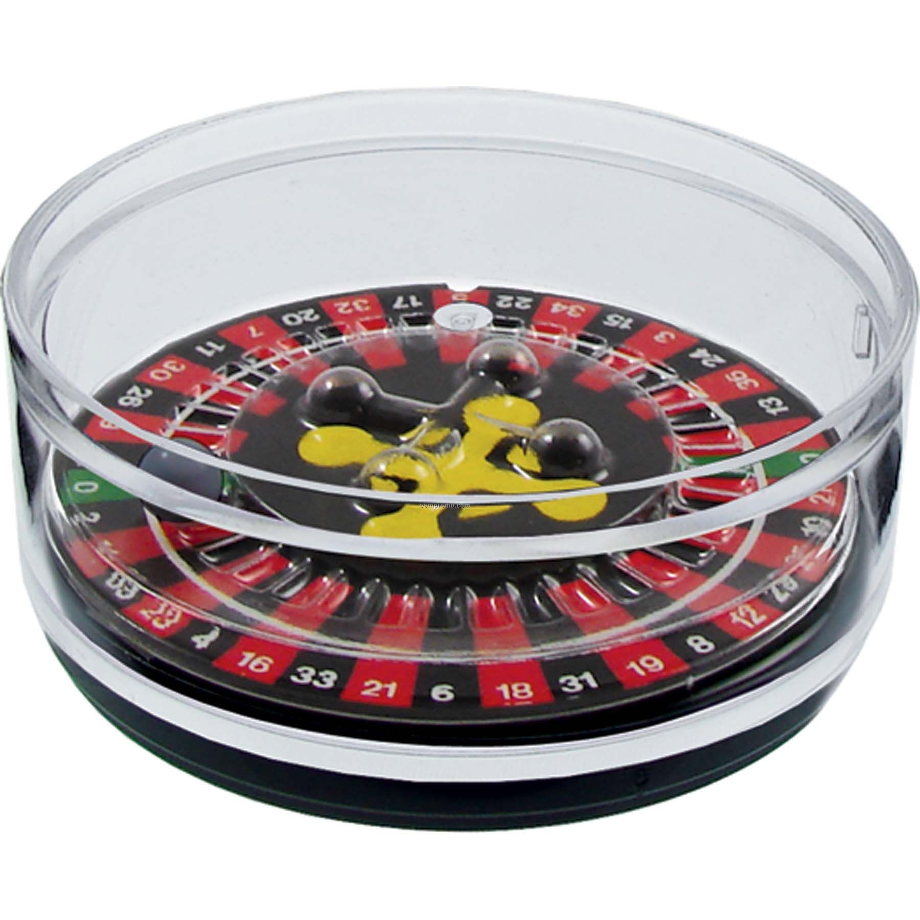 Roulette Compartment Coaster Caddy