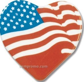 Heart Laminated Cello Button
