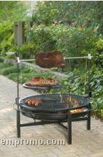 Round Rock Fire Pit & Grill - Landmann Usa