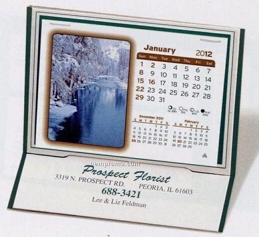 The Monterey Warwick Premier Desk Calendar (After April)