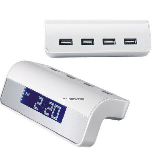 USB Hub Clock