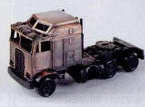 Bronze Metal Pencil Sharpener - Semi Truck