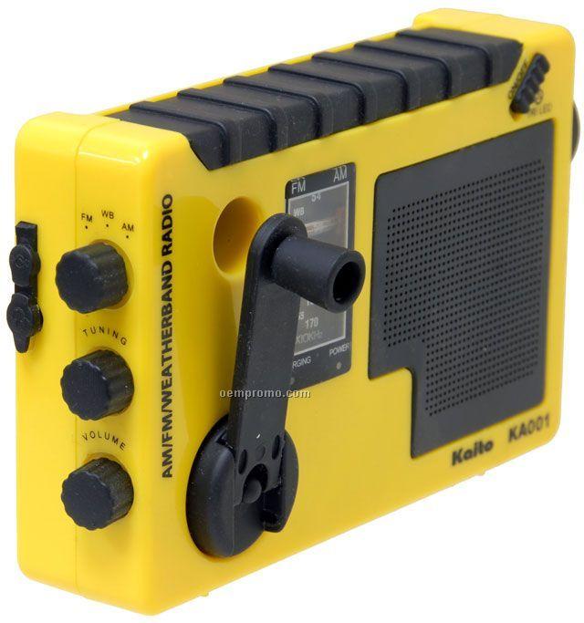 Kaito Crank Powered Radio