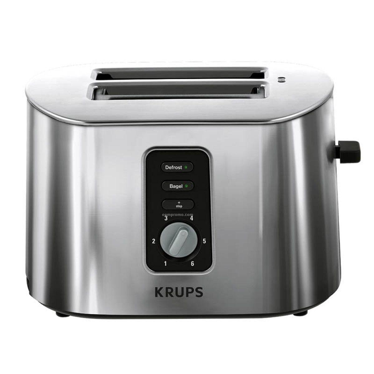 Krups 2-slice Metal Toaster (Stainless)
