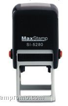 "Maxstamp Square Self Inking Stamp (1 3/16""X1 3/16"")"