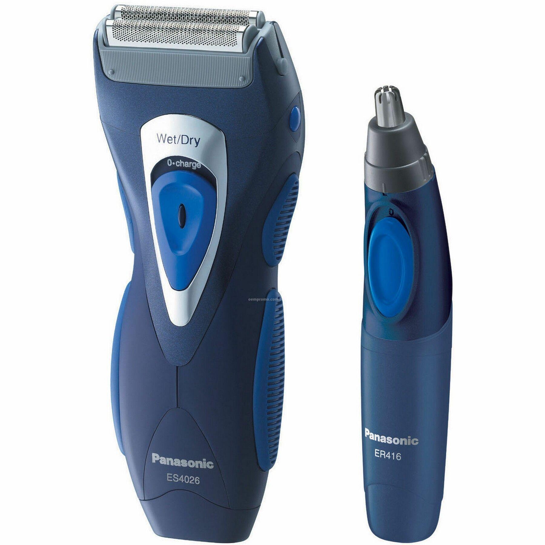 Panasonic Pro-curve Double Blade Men's Shaver/ Trimmer Gift Set
