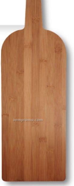 Wine Bottle Bamboo Cutting Board