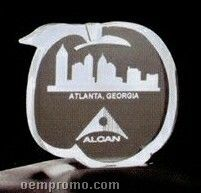 Acrylic Paperweight Up To 16 Square Inches / Peach