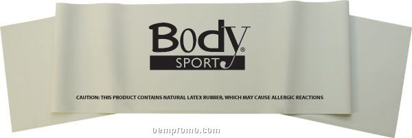 "Body Sport 6' X 6"" Exercise Band, Medium"