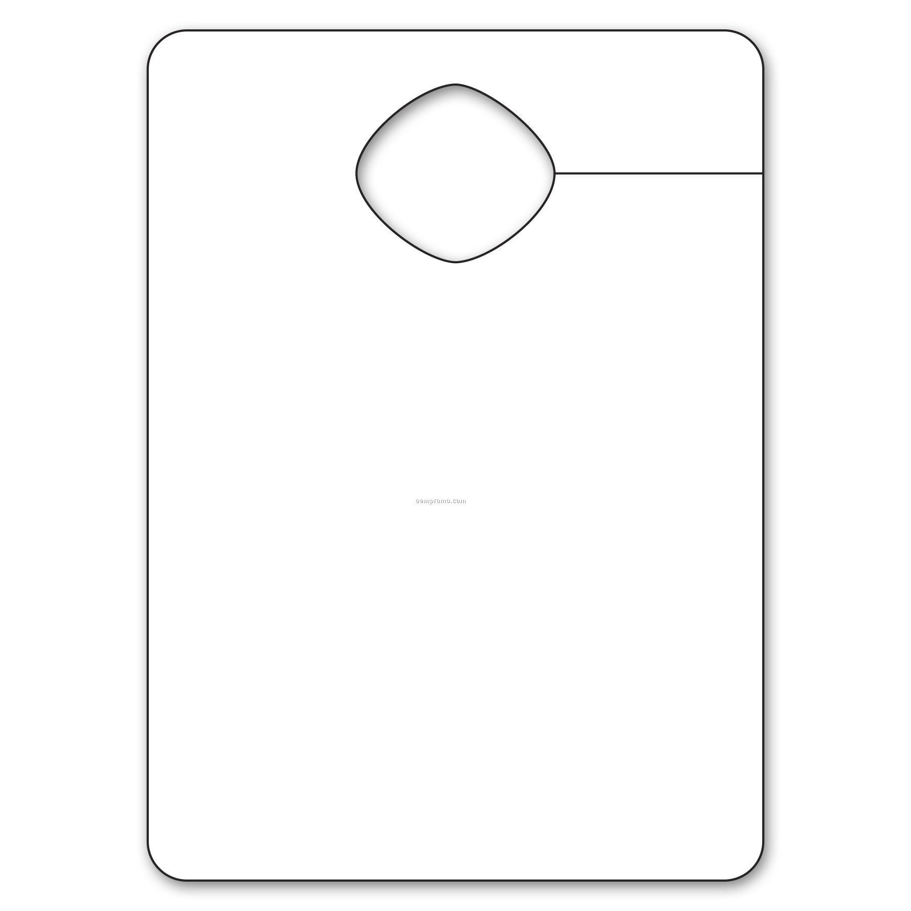 Small Paper Stock Visor Hanger