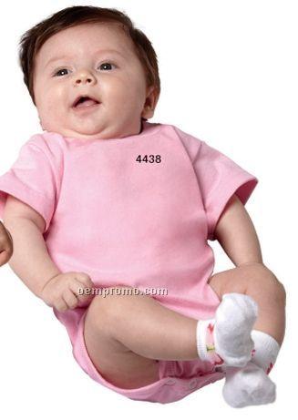 White Rabbit Skins Infant Short Sleeve Creeper / 6 Month-24 Month