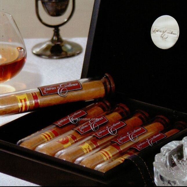Cigar Gift Box - 6 Piece Churchill