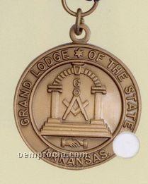 """Imported Die Struck Medallion (1-1/2"""")"""