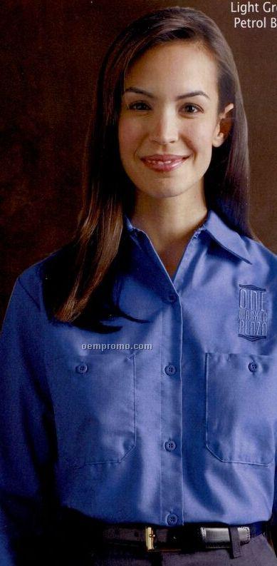fe7a979e Red Kap Women's Long Sleeve Industrial Work Shirt,China Wholesale ...