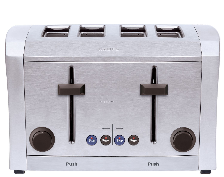 Krups Semi Pro 4-slice Toaster (Stainless)
