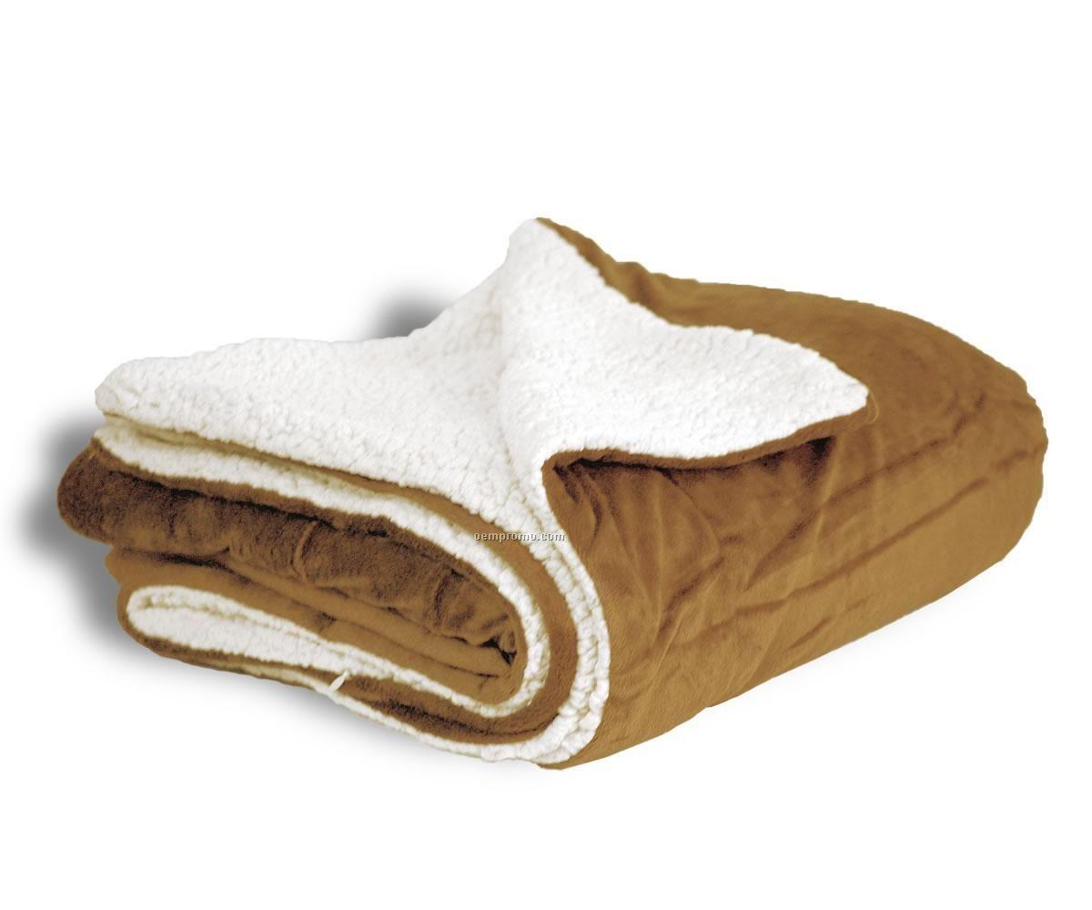 Sherpa blanket china wholesale sherpa blanket for Sherpa blanket
