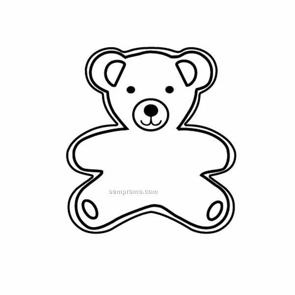 """Stock Shape Bear Recycled Magnet (2 5/16""""X2 3/4"""")"""