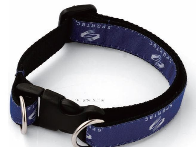 "Thin Nylon Pet Collar (3/4""X16"")"
