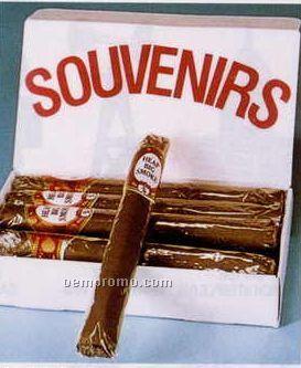 "Cellophane Wrapped Jumbo Cigars/Band: ""Heap Big Smoke"""