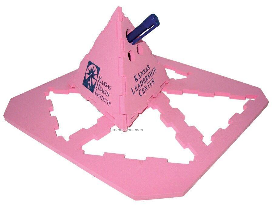 Foam Pyramid Puzzle Mailer
