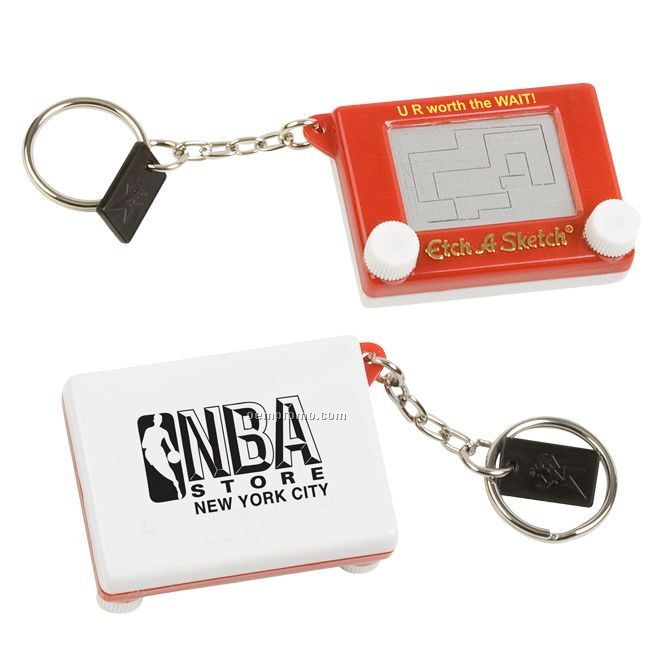 Pocket Etch-a-sketch W/ Key Chain
