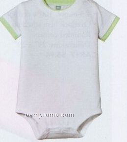Precious Cargo Short Sleeve Infant 1-piece With Shoulder Snaps