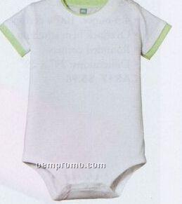Precious Cargo Short Sleeve Infant 1-piece With Shoulder Snaps