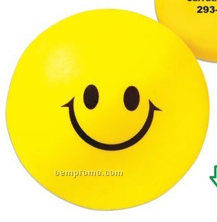 Smiley Face Squeeze Toy