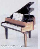 Bronze Metal Pencil Sharpener - Grand Piano