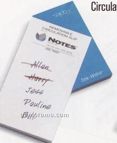 Circulation Slip 50 Sheet Pad Paples Promotional Staples