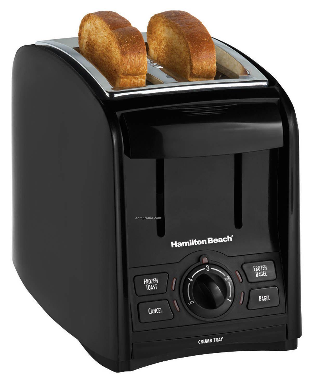 Hamilton Beach Smarttoast 2 Slice Toaster (Black)