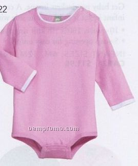 Precious Cargo Infant Long Sleeve 1-piece With Shoulder Snaps