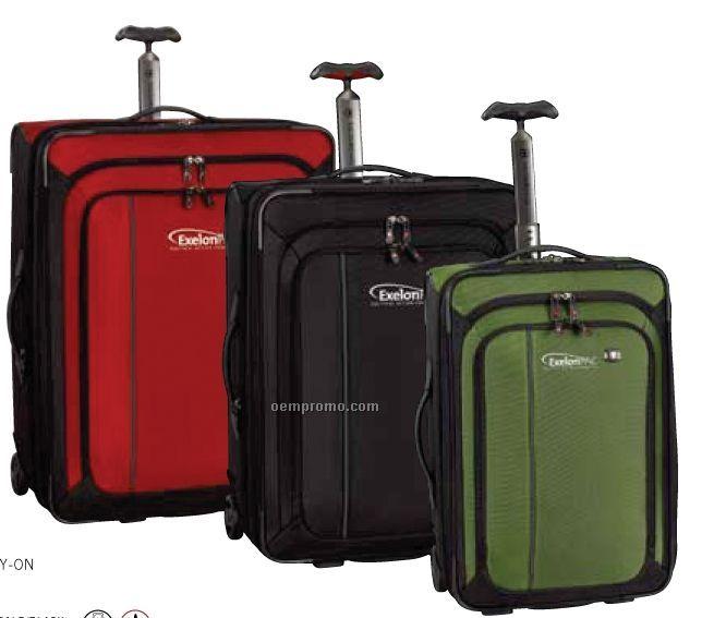 """Black Werks Traveler 27"""" Expandable Wheeled Upright Suitcase"""