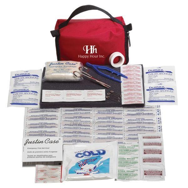 Comfort First Aid Kit W/ Zipper Closure Nylon Case