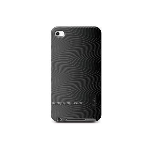 Iluv - Iphone - Silicone + Silicone Blend Case W/ 3d Pattern For Touch 4th