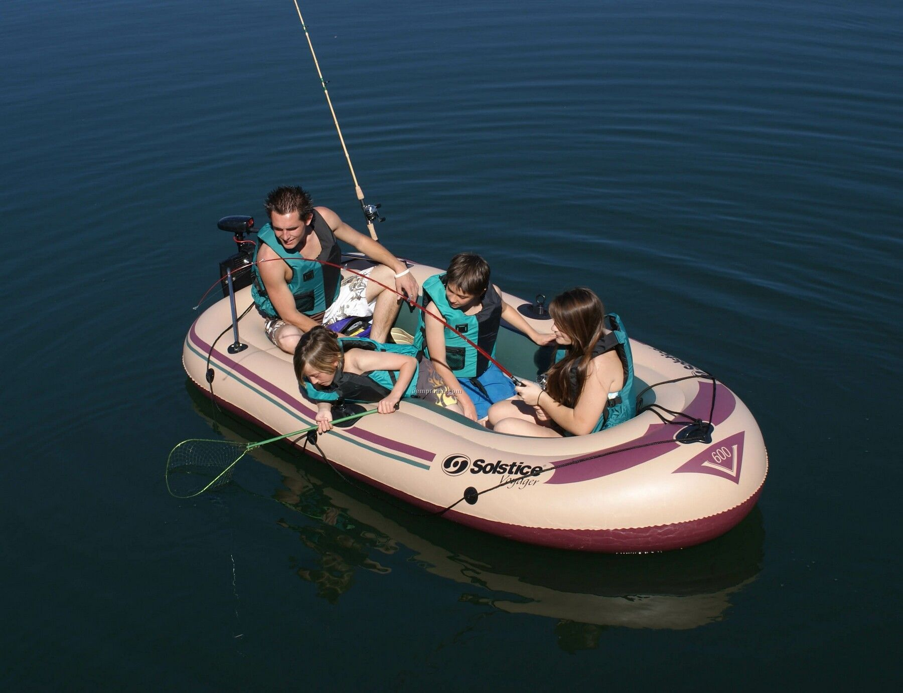 Solstice Voyager 5 Person Inflatable Boat