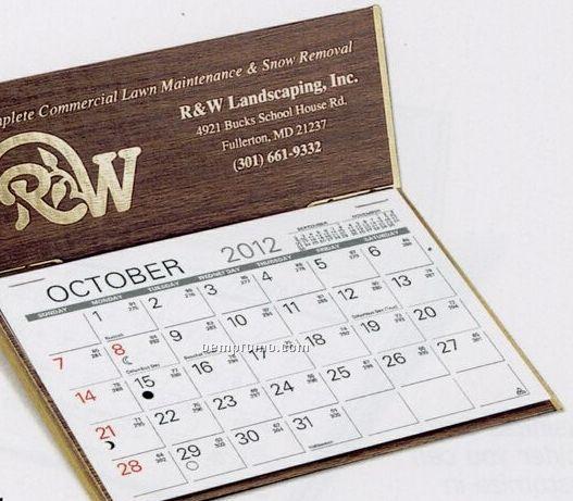 The Hampshire Warwick Premier Desk Calendar (January - April)