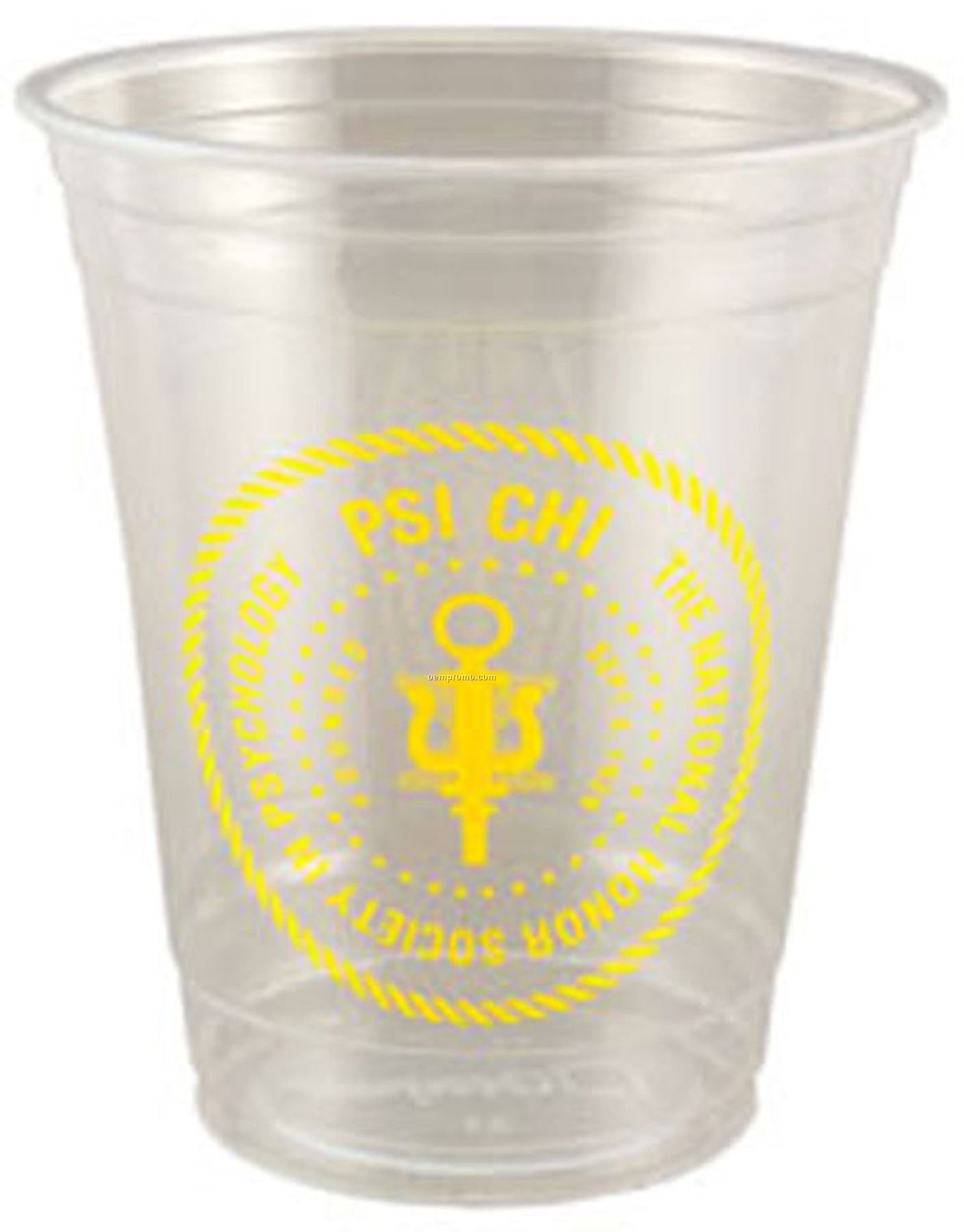 "12 Oz Soft Sided Clear Cup (2 3/8""X4 1/4"")"