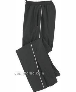 Ladies' North End Woven Twill Athletic Pants
