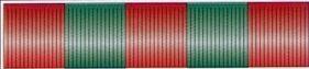 30' Green & Red Metallic Hula Streamer