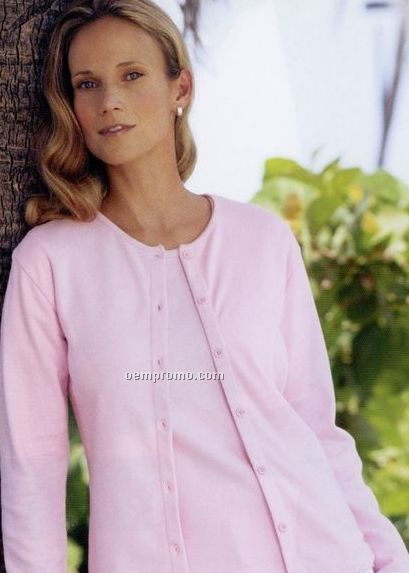 edwards cotton cashmere crew neck cardigan   short sleeve shell twin set china wholesale edwards