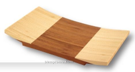 Medium Bamboo Sushi Plate