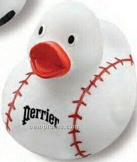 Baseball Rubber Duck