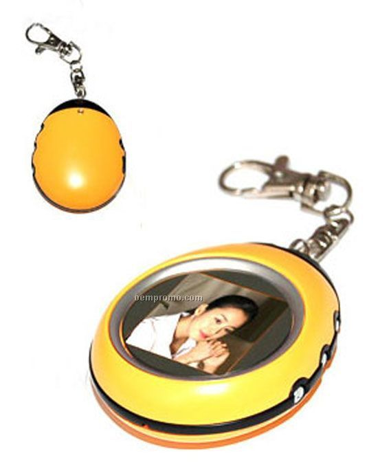 Mini Digital Photo Frame W/ Key Chain