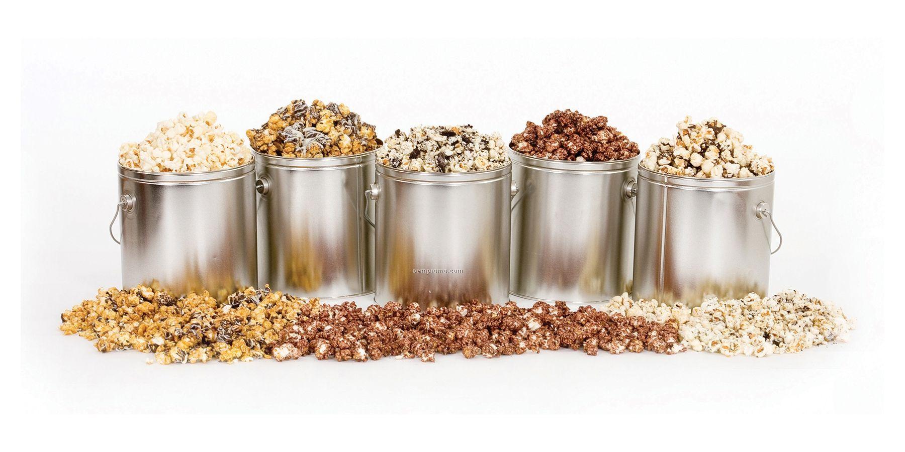 6 1/2 Gallon Caramel Chocolate Drizzle Flavored Kettle Corn