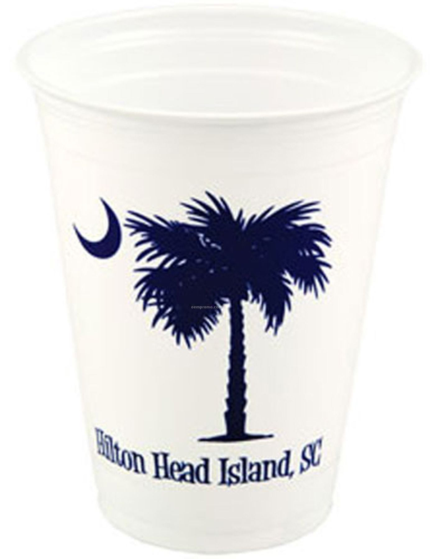 16 Oz. Soft Sided White Cup