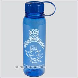 24 Oz. Poly-pure Outdoor Bottle (Tethered Lid)