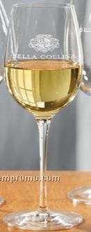 13 Oz. Estate Chardonnay Glass (Set Of 2 - Light Etch)